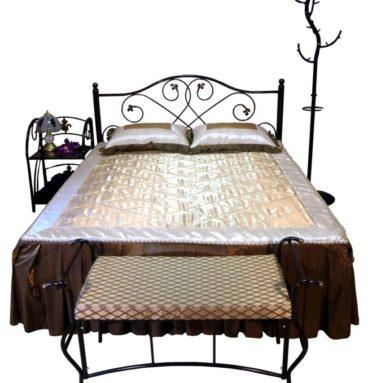 Кровать двойная металлическая Алиса