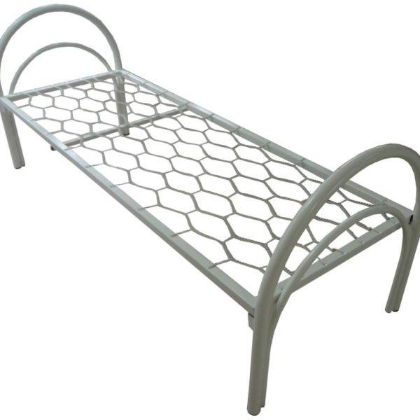 Кровать металлическая Удобная-38