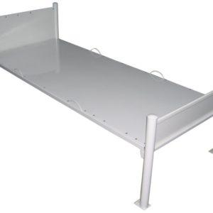 Кровать металлическая специальная ПНД