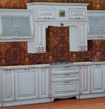 """Кухня """"SAN-MARINO"""" белая ширина 3300"""