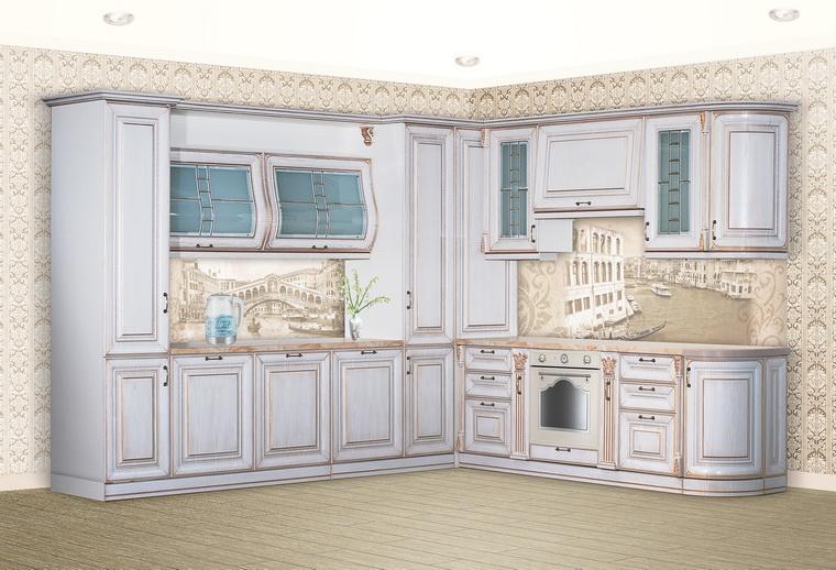 "Кухня ""SAN-MARINO"" угловая 2900х3300"