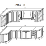 Кухня NOVA 3