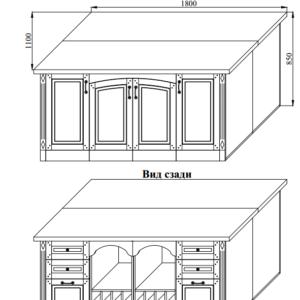 Кухня NOVA стол