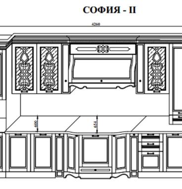 Кухня София 2 схема