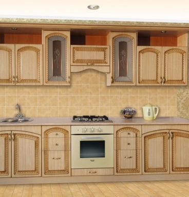 Кухня Виктория 3000 беж
