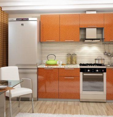 «София Оранж» Гарнитур для кухни, длина 210 см