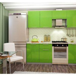 «София Зеленая» Гарнитур для кухни, длина 210 см