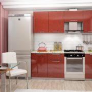 «София гранат» Гарнитур для кухни, длина 210 см