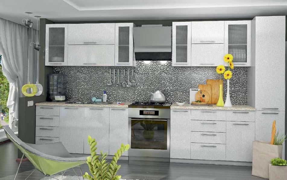 «София Белая» Модульная кухня