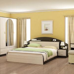 Спальня Александра (венге беленый дуб)