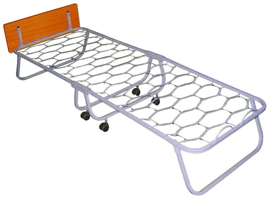 Кровать раскладная (раскладушка) Волна 800C со спинкой