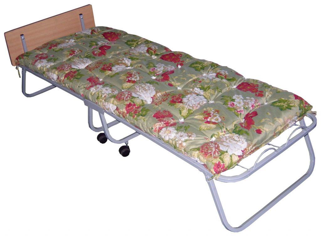Кровать раскладная (раскладушка) Волна со спинкой