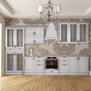 Кухня «Жасмин» NEW L360 белая