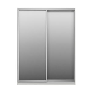 Шкаф купе 2-х дверный Экспенс белый