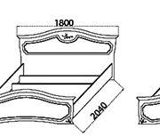 Спальня «Анастасия» кровати
