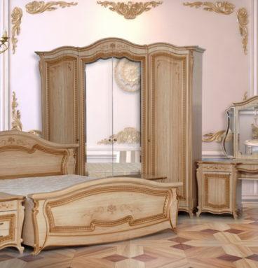 Спальня «Эмилия» ПВХ Кремовая