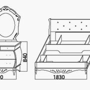 Спальня «Эмма» кровать