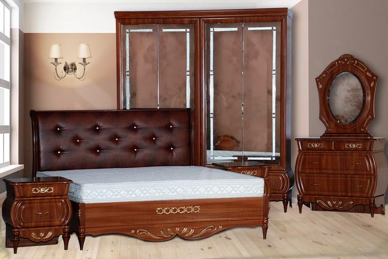 Спальня «Эмма» орех