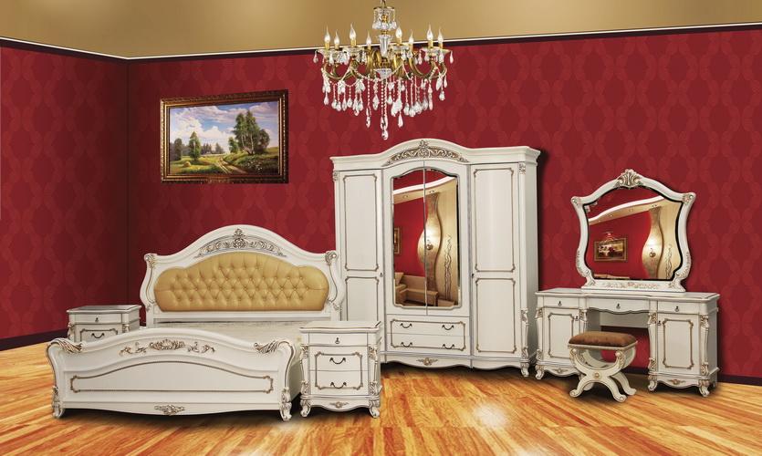 Спальня «Касандра» NEW ваниль
