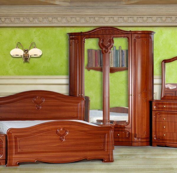 Спальня «Палермо» 4-х дв. - радиусная