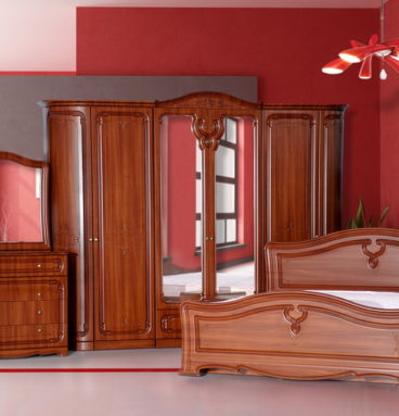 Спальня «Палермо» 6-ти дв. - радиусная