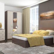 Спальня Ронда с Шкафом трехстворчатым