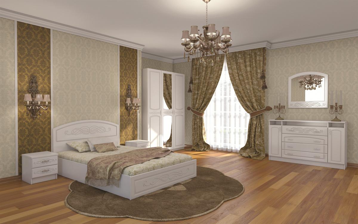 Спальня Венеция с 3ств шкафом