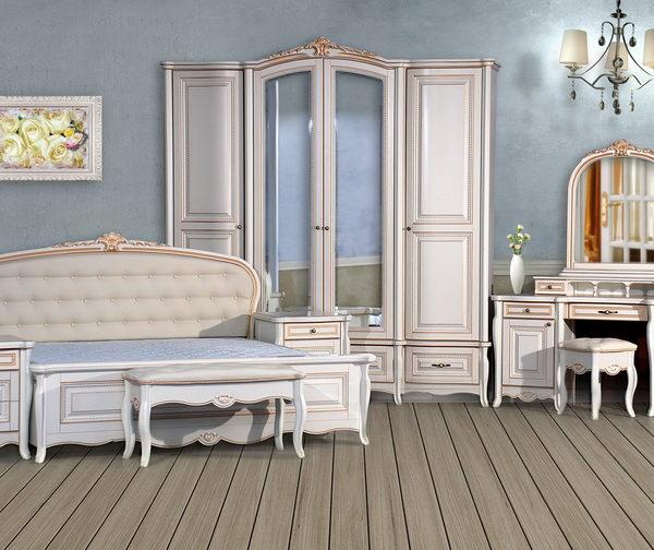 Спальня «Vicenza» белая