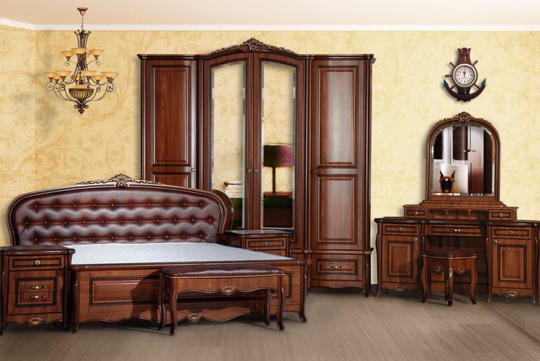 Спальня «Vicenza» орех