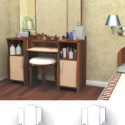 Туалетный столик Галант-4
