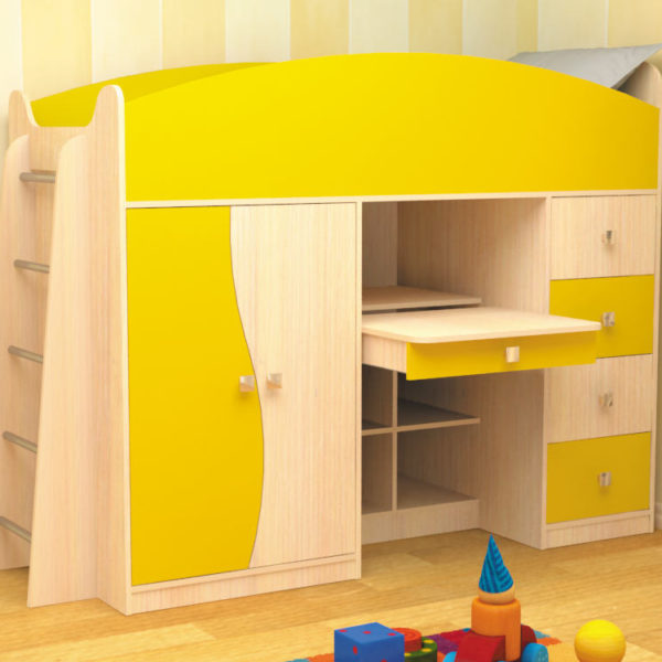 Детская кровать комплекс БЭМБИ