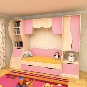 Детский комплекс с кроватью ЛЕОПОЛЬД
