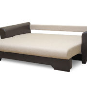 Гранат диван 3-х местный разложенный