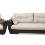 Гранат диван 3-х местный с креслом