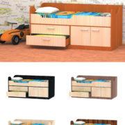 Кровать МИШКА