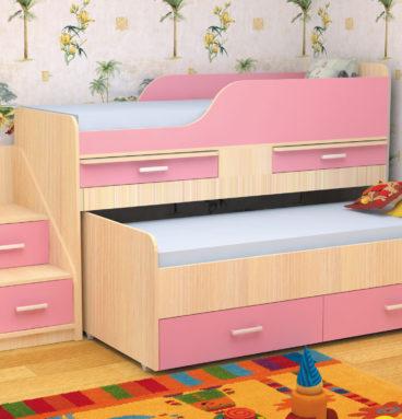 Кровать двухместная ЛЁСИКИ