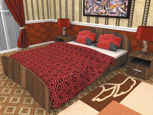 Кровать двухспальная 160х2