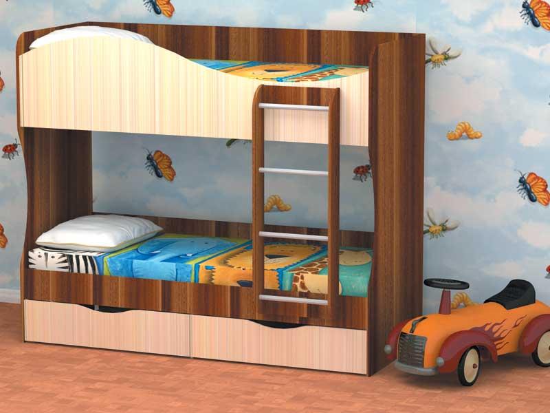 Кровать двухъярусная КУЗЯ