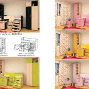 Набор детской мебели Фиона