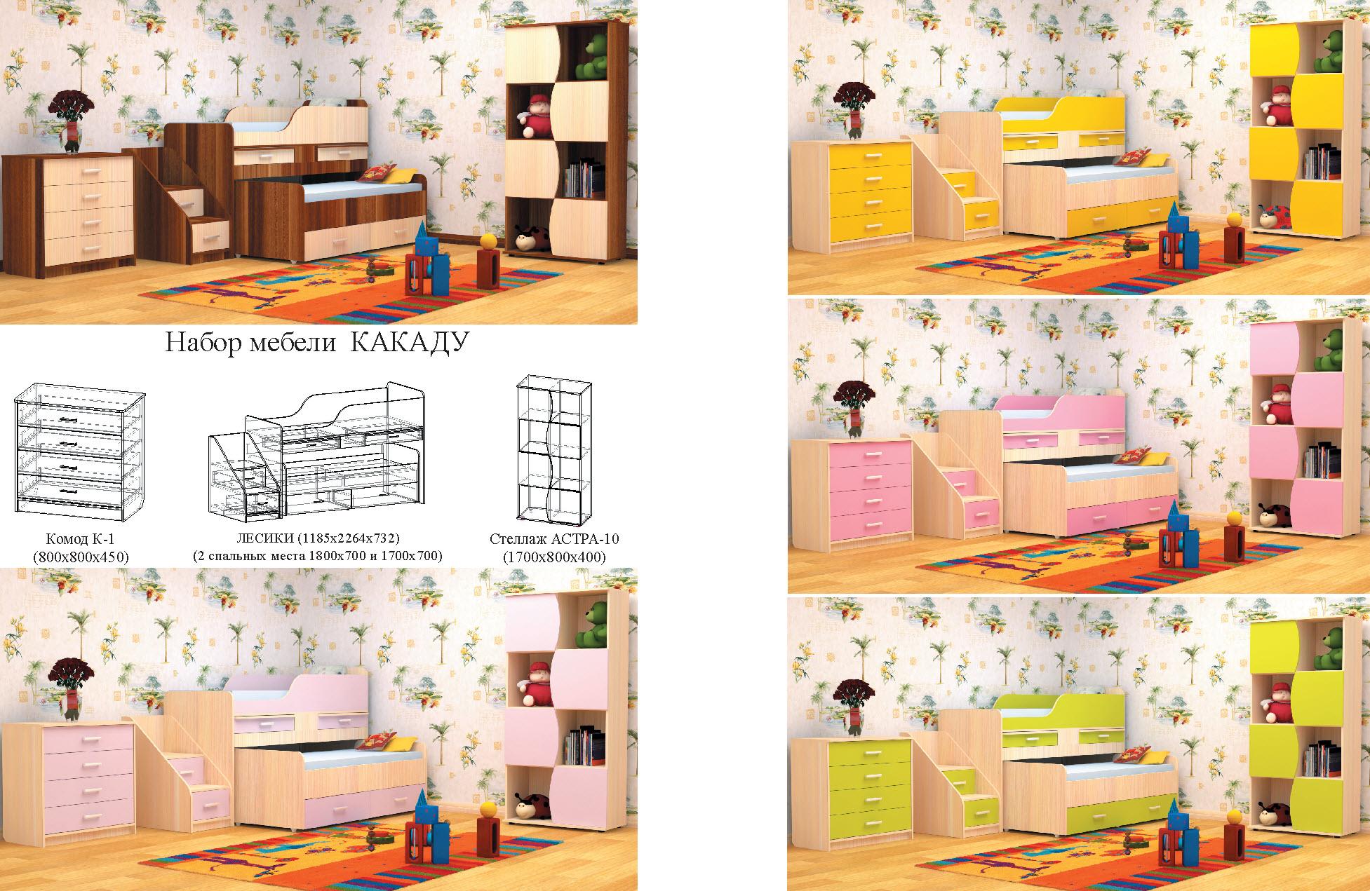 Набор детской мебели Какаду