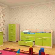 Набор детской мебели ЛУНТИК лайм