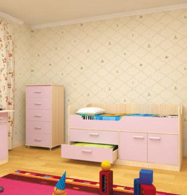 Набор детской мебели ЛУНТИК лаванда