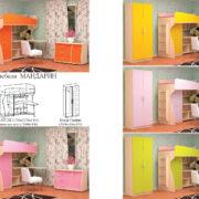 Набор детской мебели Мандарин