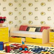 Набор мебели НЕЗАБУДКА желтый