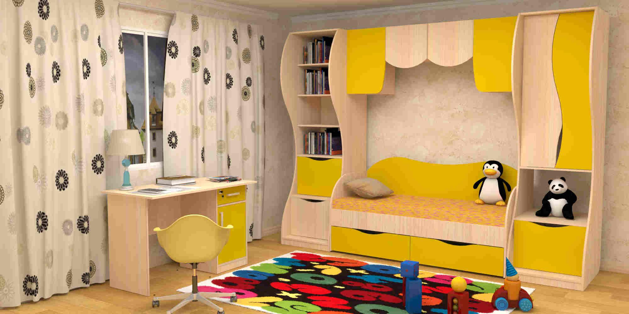 """Купить набор мебели для детской """"простоквашино"""" недорого в а."""