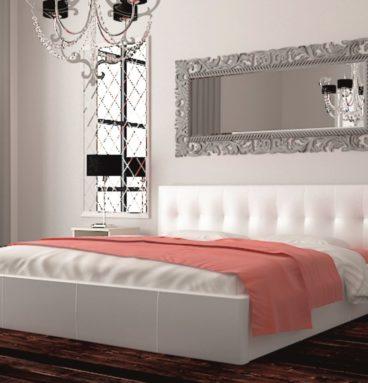 Шарм 1 кровать 1600х2000 белая