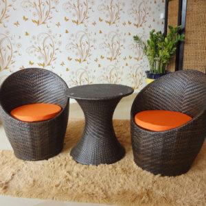 Стол и стул из искусственного ротанга NT-01 NС-01