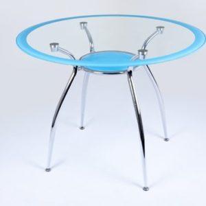 Стол обеденный DT 265R голубой