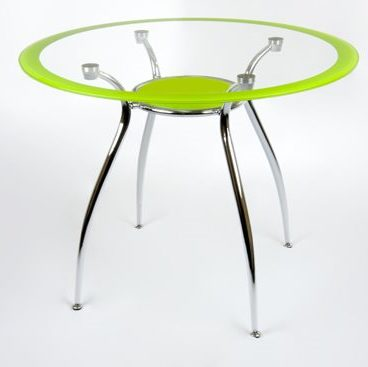 Стол обеденный DT 265R зеленый