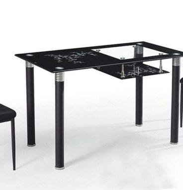 Стол обеденный со стеклом А32 со стульями